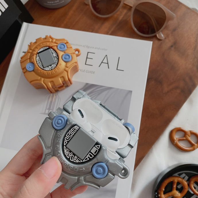 Digimon 'Digivice | 2.0' Premium AirPods Pro Case Shock Proof Cover