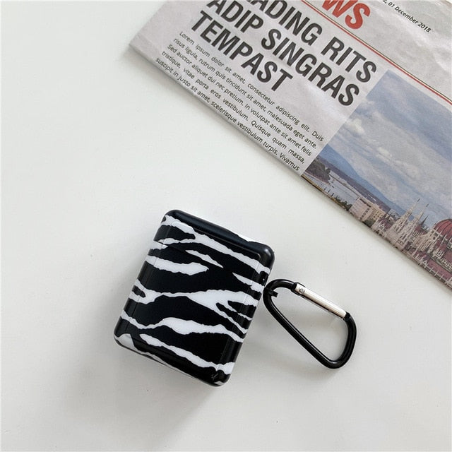 Zebra Print 'Modular' AirPods Case Shock Proof Cover