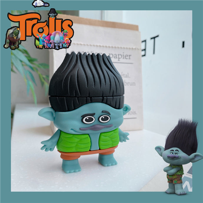 Trolls 'Branch' Premium AirPods Pro Case Shock Proof Cover