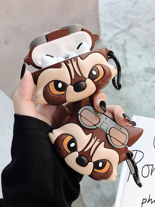 Rocket Racoon Premium AirPods Pro Case Shock Proof Cover