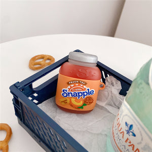 Snapple Peach Tea Premium AirPods Pro Case Shock Proof Cover