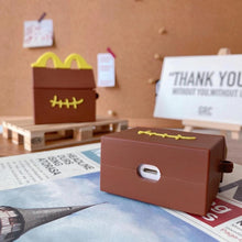 Load image into Gallery viewer, McDonald's Box 'Stitched' Premium AirPods Pro Case Shock Proof Cover