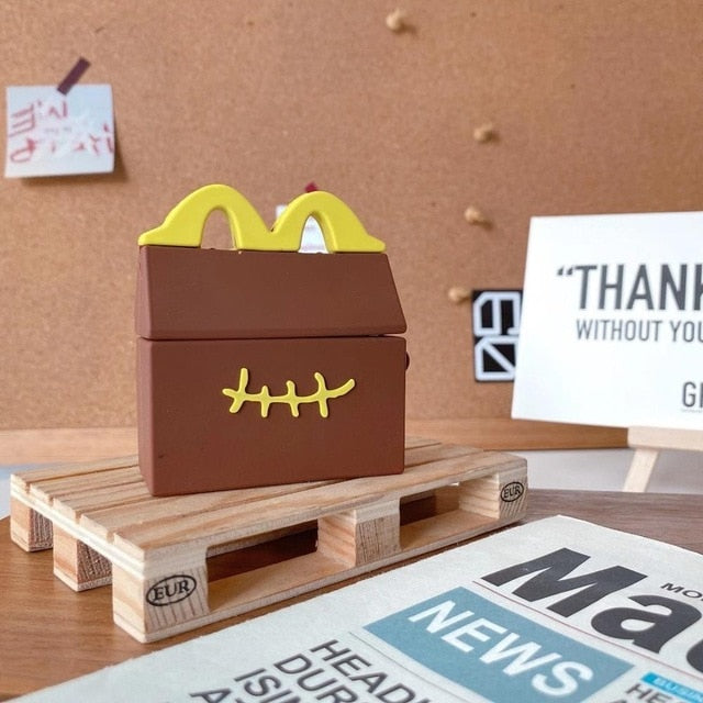 McDonald's Box 'Stitched' Premium AirPods Pro Case Shock Proof Cover