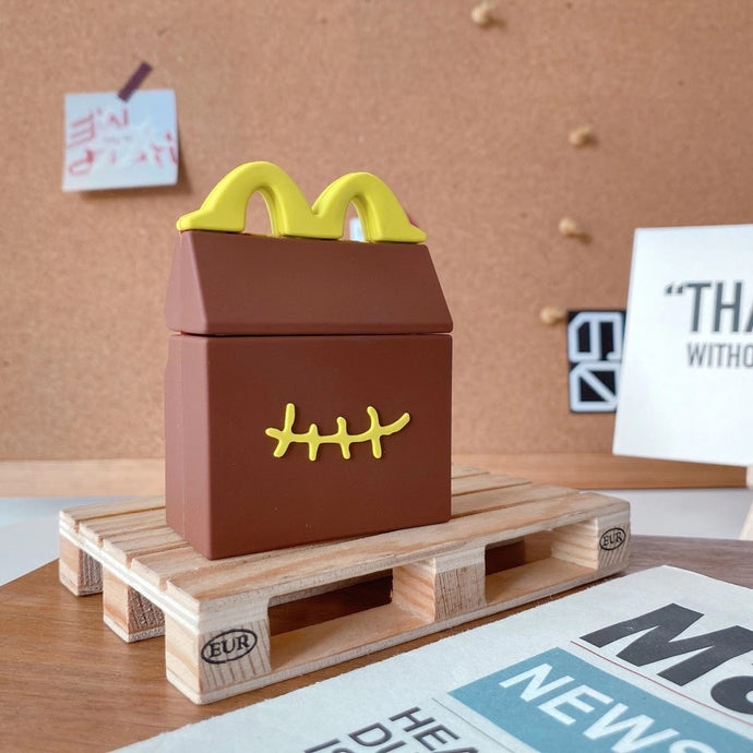 McDonald's Box 'Stitched' Premium AirPods Case Shock Proof Cover