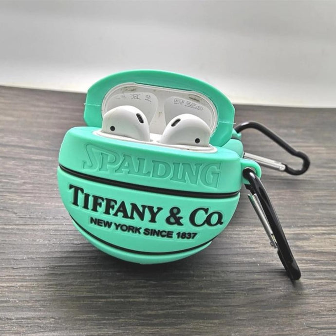 Tiffany Brand Basketball Premium AirPods Case Shock Proof Cover