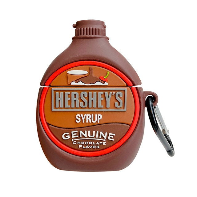 Hershey's Chocolate Syrup Premium AirPods Case Shock Proof Cover
