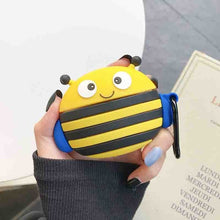 Load image into Gallery viewer, Cute Wacky Bumblebee Premium AirPods Pro Case Shock Proof Cover