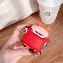 Load image into Gallery viewer, Cute Christmas Pig Premium AirPods Pro Case Shock Proof Cover