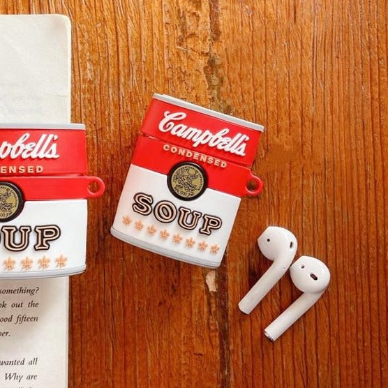 Campbell's Soup Premium AirPods Case Shock Proof Cover