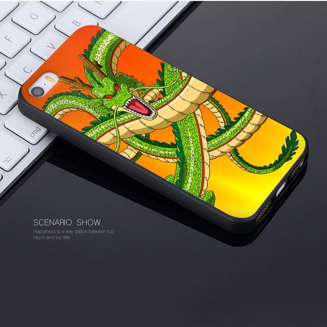 Dragon Ball Z 'All Forms' Soft Shell iPhone Case for Apple iPhone 8 7 6 6S Plus 5S SE XS XR XSMAX