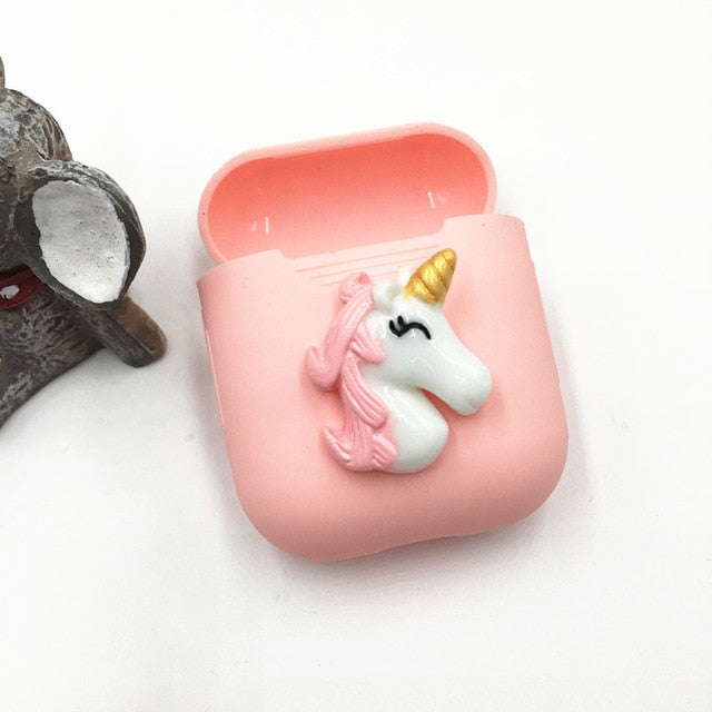 Pink Unicorn AirPods Case Shock Proof Cover