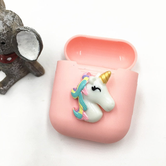 Blue Unicorn AirPods Case Shock Proof Cover