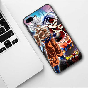 Dragon Ball Z 'Art' Soft Shell iPhone Case for Apple iPhone X XR XS MAX 7 7Plus 8 Plus 6 6splus 5 5S SE