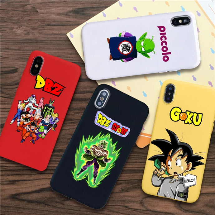 Dragon Ball Z 'Comic' Shock Proof iPhone Case