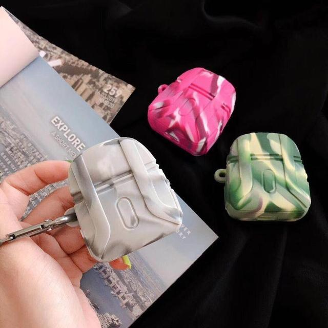 PUBG Pink Camo Backpack Premium AirPods Case Shock Proof Cover-iAccessorize