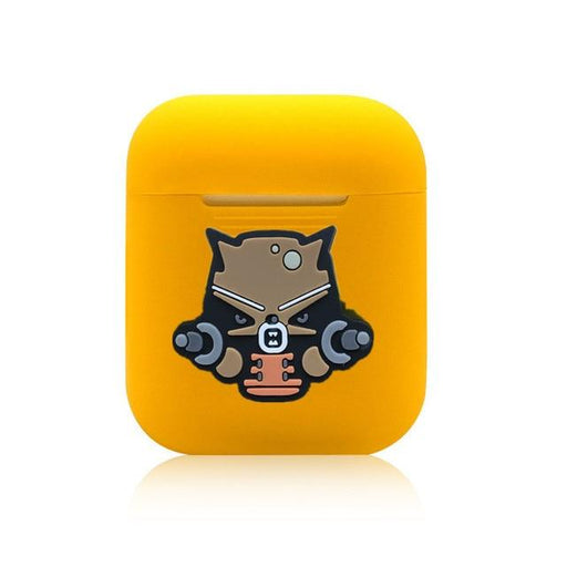 Rocket Raccoon Yellow AirPods Case Shock Proof Cover-iAccessorize