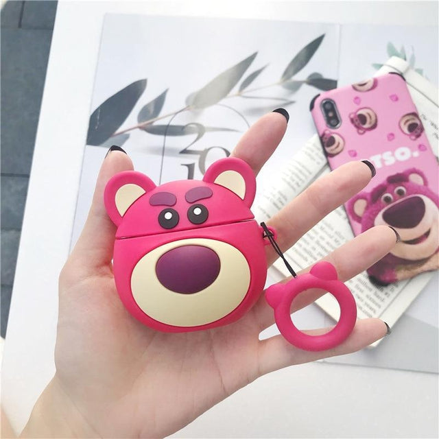 Round Lotso Premium AirPods Case Shock Proof Cover-iAccessorize