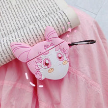 Load image into Gallery viewer, Sailor Moon 'Chibiusa' Premium AirPods Case Shock Proof Cover-iAccessorize