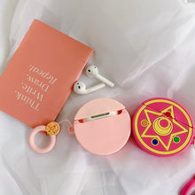 Load image into Gallery viewer, Sailor Moon Rose Crystal Star Premium AirPods Case Shock Proof Cover-iAccessorize