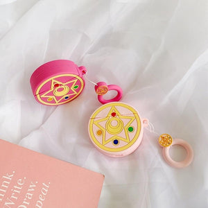 Sailor Moon Rose Crystal Star Premium AirPods Case Shock Proof Cover-iAccessorize