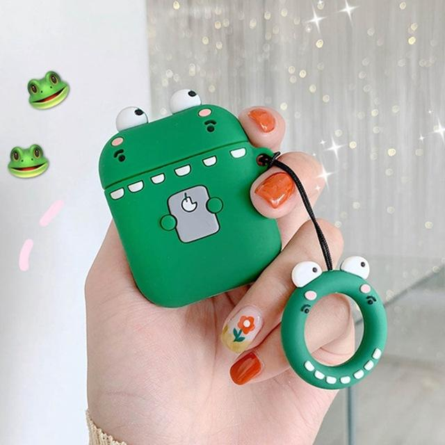 Shy Dino AirPods Case Shock Proof Cover-iAccessorize