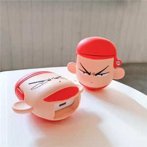 Slam Dunk 'Hanamichi Sakuragi' Premium AirPods Case Shock Proof Cover-iAccessorize