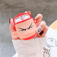 Load image into Gallery viewer, Slam Dunk 'Hanamichi Sakuragi' Premium AirPods Case Shock Proof Cover-iAccessorize
