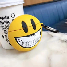 Load image into Gallery viewer, Smile Emoji Skull Premium AirPods Case Shock Proof Cover-iAccessorize