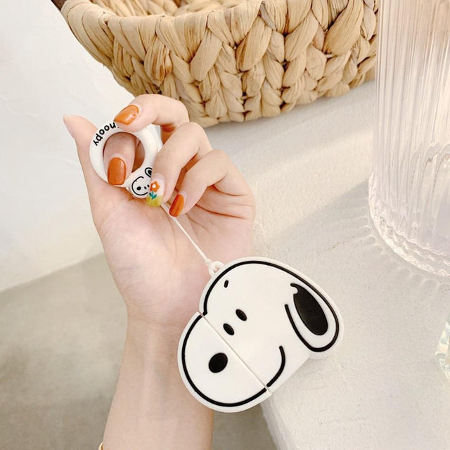 Snoopy Premium AirPods Case Shock Proof Cover-iAccessorize