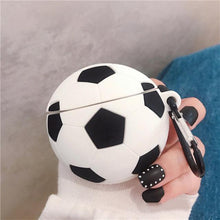 Load image into Gallery viewer, Soccer Ball Premium AirPods Case Shock Proof Cover-iAccessorize