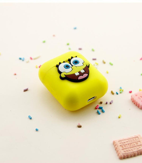 SpongeBob AirPods Case Shock Proof Cover-iAccessorize