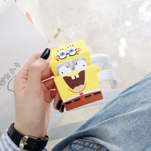 Load image into Gallery viewer, SpongeBob SquarePants Premium AirPods Case Shock Proof Cover-iAccessorize