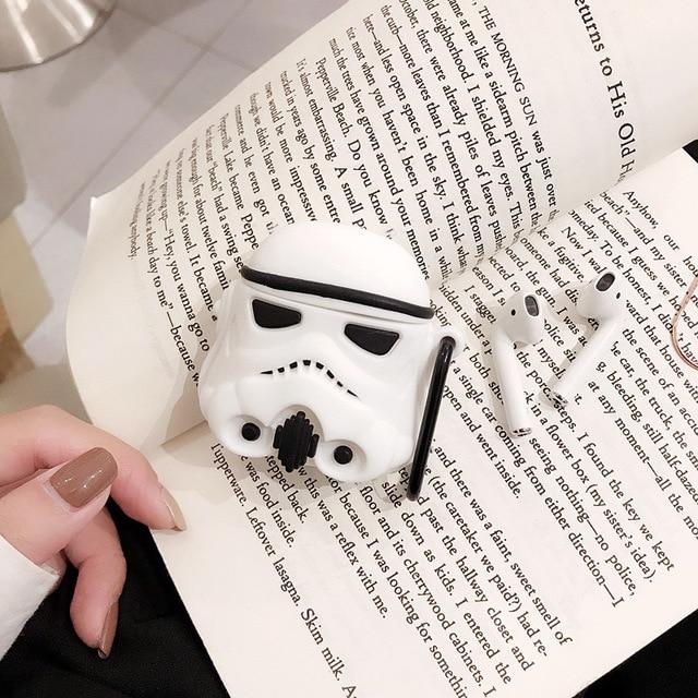 Star Wars Storm Trooper Premium AirPods Case Shock Proof Cover-iAccessorize