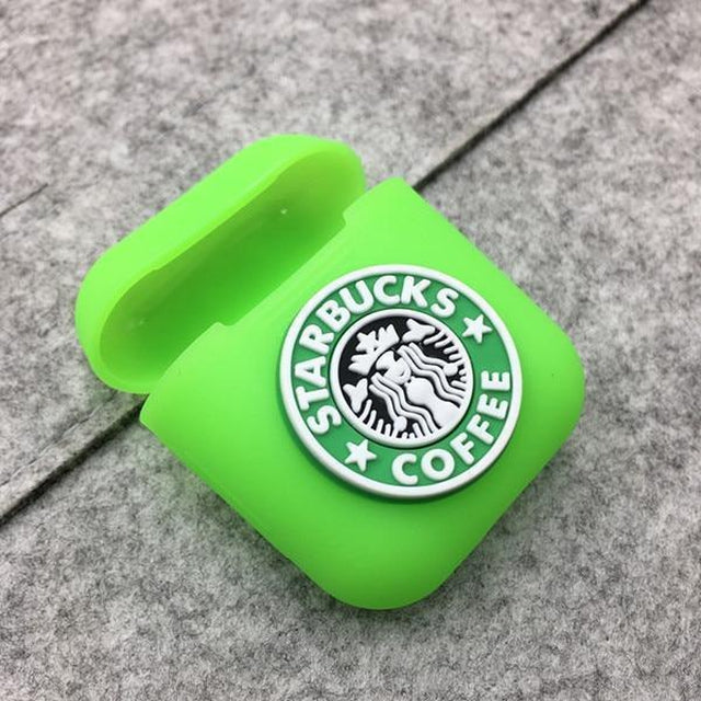 Starbucks Green AirPods Case Shock Proof Cover-iAccessorize