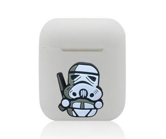 Storm Trooper AirPods Case Shock Proof Cover-iAccessorize