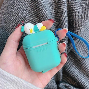 Tiffany Blue Baby Donald AirPods Case Shock Proof Cover-iAccessorize