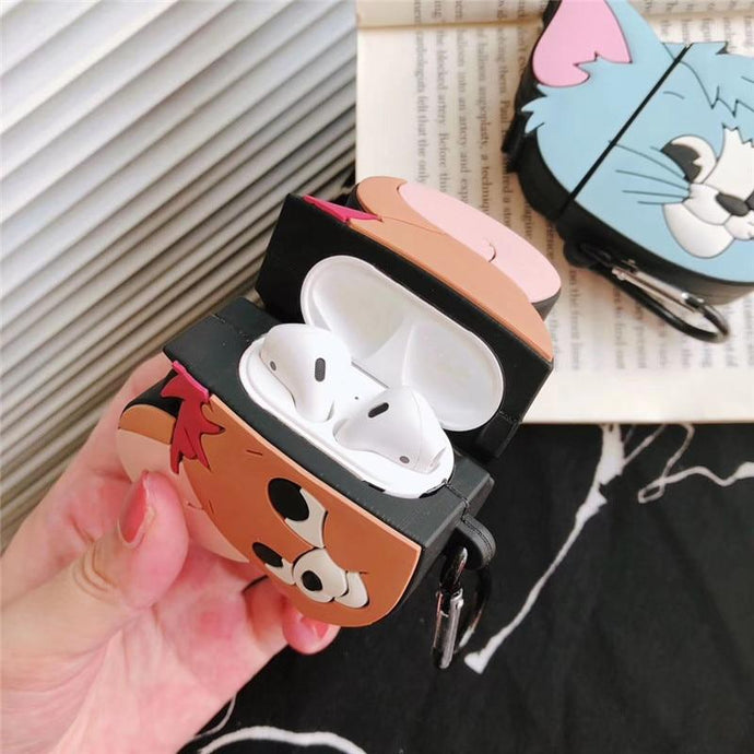 Tom and Jerry 'Jerry' Premium AirPods Case Shock Proof Cover-iAccessorize