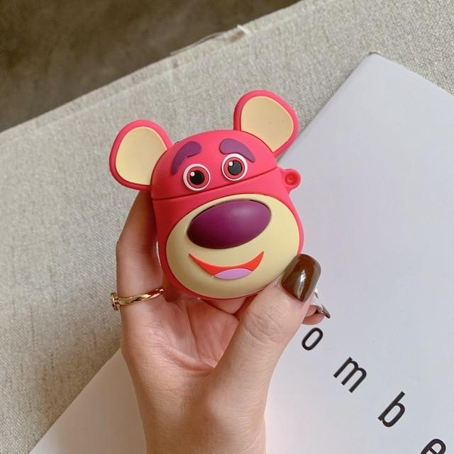 Toy Story Lotso with Ears Premium AirPods Case Shock Proof Cover-iAccessorize