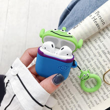 Load image into Gallery viewer, Toy Story Squeeze Toy Aliens Pizza Planet Martian Premium AirPods Case Shock Proof Cover-iAccessorize