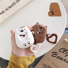 Load image into Gallery viewer, We Bare Bears Grizzly Bear Premium AirPods Case Shock Proof Cover-iAccessorize