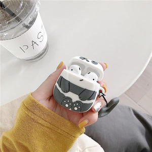 We Bare Bears Grizzly Bear Premium AirPods Case Shock Proof Cover-iAccessorize