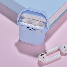 Load image into Gallery viewer, White Headphones Cat AirPods Case Shock Proof Cover-iAccessorize