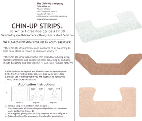 Chin-Up Strip New User Trial Pack - FREE SHIPPING!