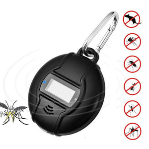 Portable Ultrasonic Mosquito & Fly Repellent