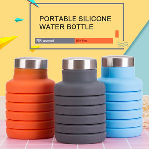 Space-Saving Water Bottle