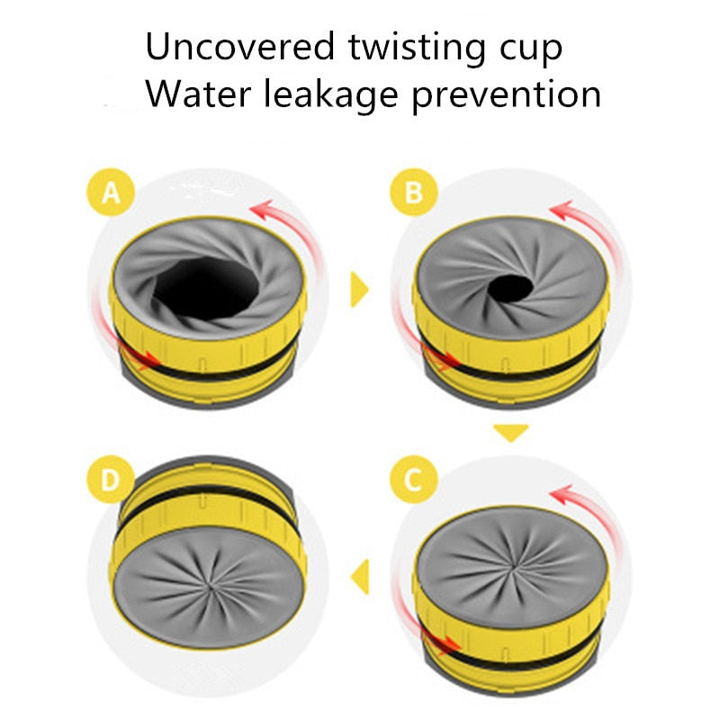 Lidless Twist Cup