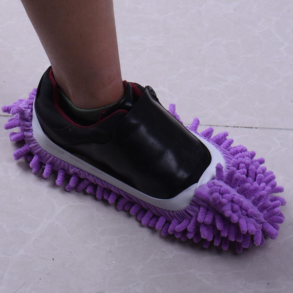 Cleaning - Microfiber Mop Slippers