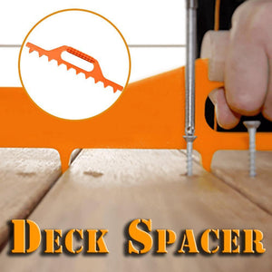 Precise Deck Spacing Tool