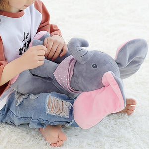 Elephant - Peek-A-Boo Elephant Plush Doll