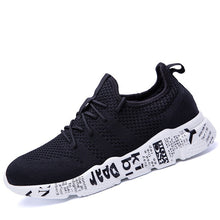 Load image into Gallery viewer, 2018 Brand Shoes Man Designer Summer Male Shoes Tenis Masculino Krasovki Black Shoes Breathable Men Casual Shoes High Quality